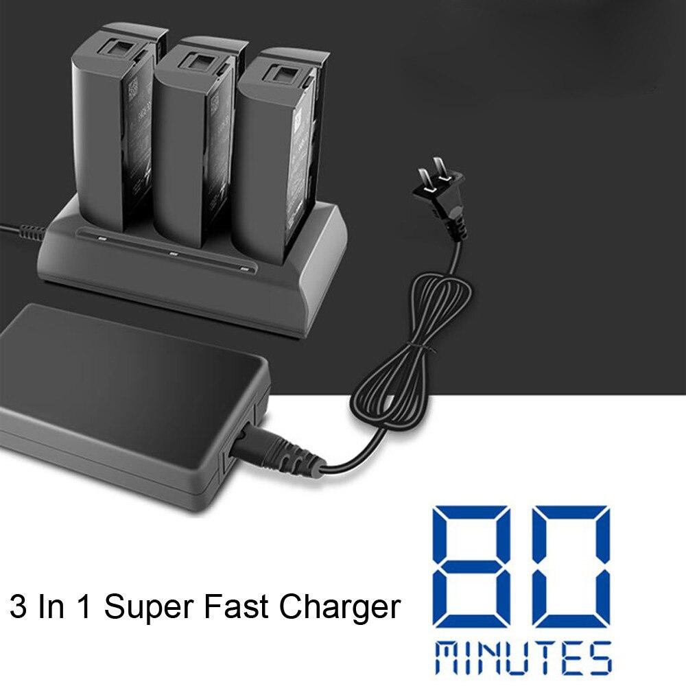 HIPERDEAL Drone accessoires chargeur pour perroquet Bebop 2 Drone/FPV batterie équilibrée 3 en 1 Super rapide chargeur adaptateur BAY21