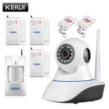 720 P Сетевой Безопасности WI-FI ip-камера Мегапиксельная HD Беспроводной Цифровой камеры Безопасности ИК Инфракрасного Ночного Видения сигнализация