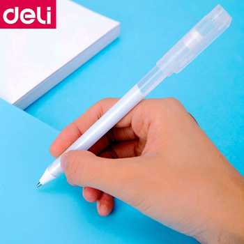 24PCS/BOX Deli 68554 pen shaped water glue 2.3ml liquid glue pen easy to carry office home school student water glue wholesale - DISCOUNT ITEM  0% OFF All Category