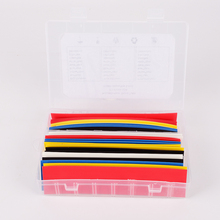 High Quality  5 Colors Hot 30pcs 180mm Polyolefin Assortment Ratio 2:1 Heat Shrink Tubing Tube Sleeving For Wrap Kit With Box