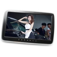 Car Digital HD LCD Screen MP5 Player Car Headrest Monitor Touch Button Remote With Control USB