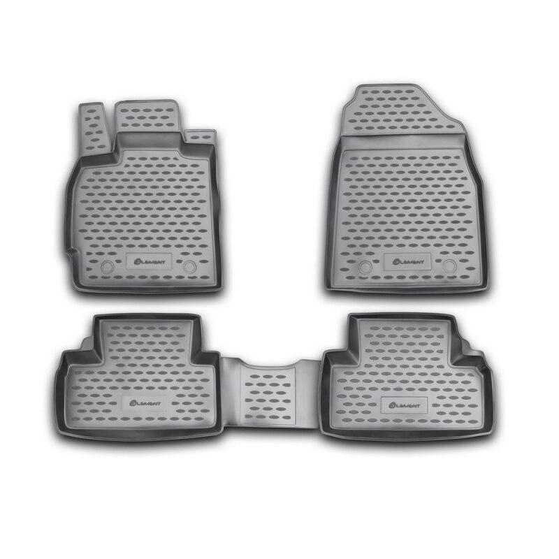 Tappeto tappetini interni Per MAZDA CX-7 2010->, 4 PCs (poliuretano)