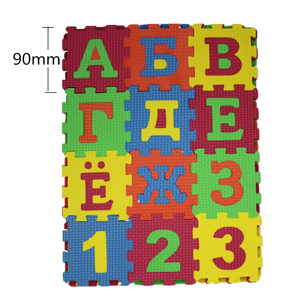 36pcs-90-90mm-Kids-baby-play-mat-puzzle-mats-carpet-rugs-babies-puzzle-33PCS-Russian-Language-3PCS-number-of-foam-2