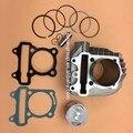 GY6 150CC 57.4 мм 157QMJ Цилиндр W/Поршневые Комплекты Прокладок Кольца ATV Quad Мопедов Go Kart Части Двигателя