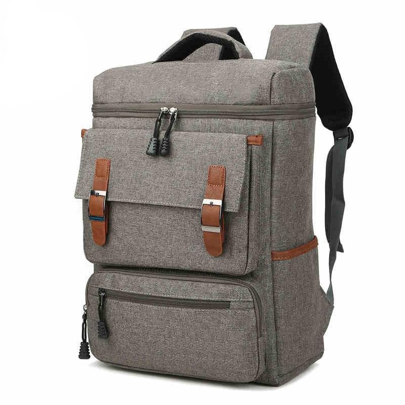ФОТО 2017 New Men College School Student Backpack Men backpack Casual Rucksacks Travel Bag laptop backpack