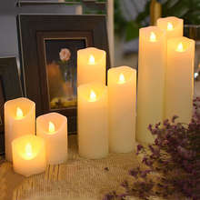 Flameless Paraffin Wax Led Candles Powered By Battery For Wedding/Birthdays/Holiday Party/Hotel,Coffee Shop Hom Room Decoration
