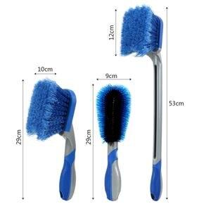 Image 5 - Car Tyre Cleaning Brush Washing Tool Tire Duster Multi Functional Long Handle Car Wheel Brush