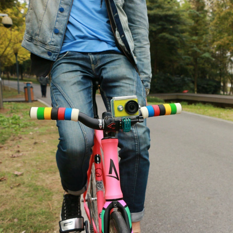 YI Bike Mount For YI Action Camera Green Handlebar For Sports Camera YI Official-3