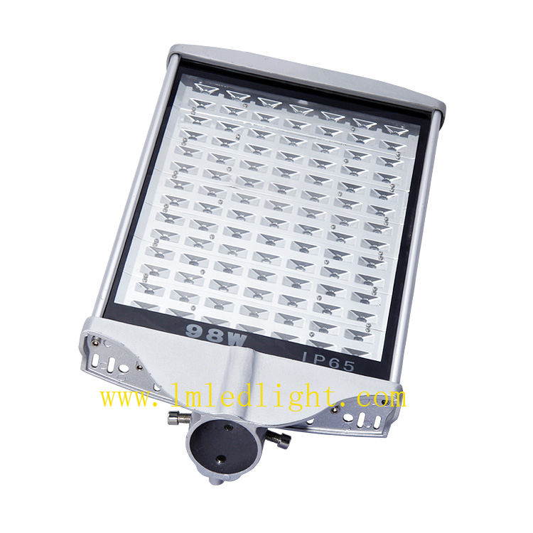 100W LED Street Light Outdoor lighting lamps AC85-265V 98pcs 1W led chip street light 3 years Warranty Street lighting lamps