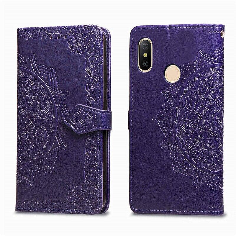 Leather Flip Case For Xiaomi Redmi 8 6 6A 5 Plus 4A 4X Note 5A 4 5 7 6 8 Pro 8T 3S Go Mi A3 9T 9 Lite 3