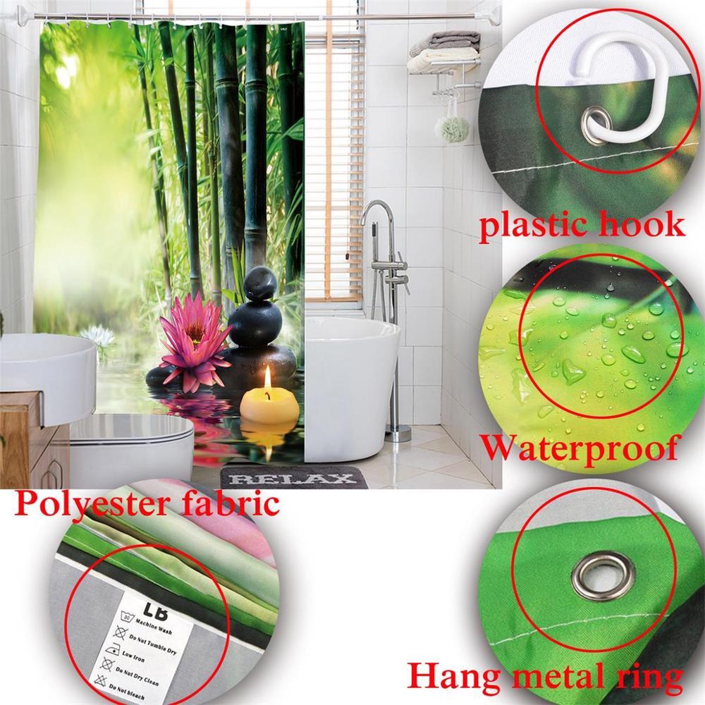 72 Detailed Periodic Table Of Elements Custom Bathroom Waterproof
