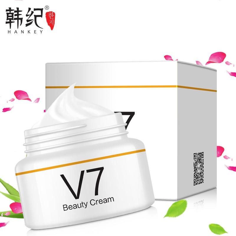 V7 Tonificacao Luz Preguicoso Clareamento Creme Oil Controle