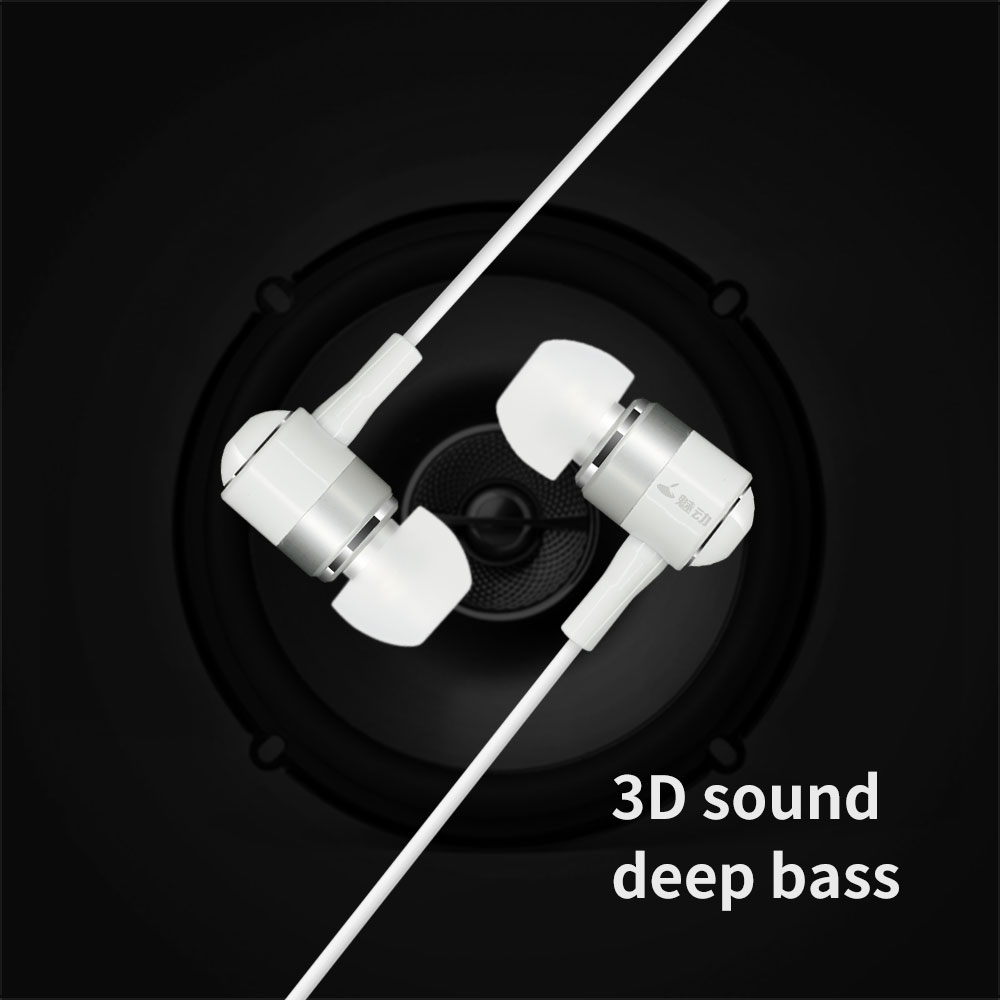 Cowin HE1 3.5mm In-Ear Stereo Earbuds Sport Earphone with mic for xiaomi iPhone Samsung Headset fone de ouvido auriculares plextone x46m in ear earphone removable metal 3 5mm stereo bass earbuds gaming headset with mic for computer phone iphone sport