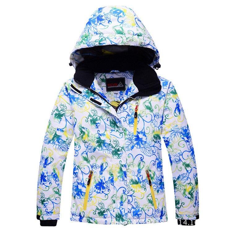 Children Girl Boy Ski Snow Jackets Hooded Coat 6 8 10 14 -7664