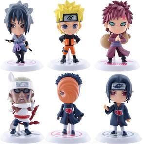 Naruto Figures PVC Anime Itachi/Gaara/Sasuke/Killer B/Obito Model Toys Action Figure Collection Model Children Baby Kids Toys