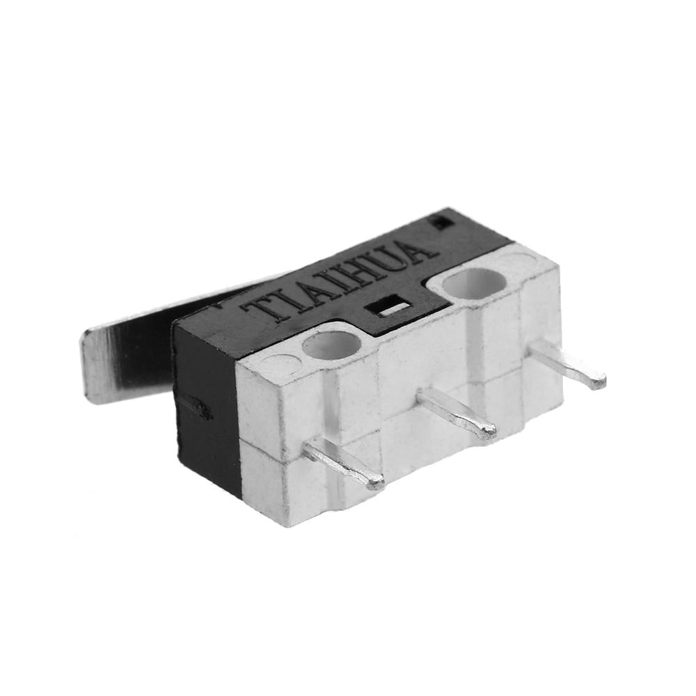 10 Pcs Sensitive Electronic Useful 1NO 1NC SPDT Momentary Long Hinge ...