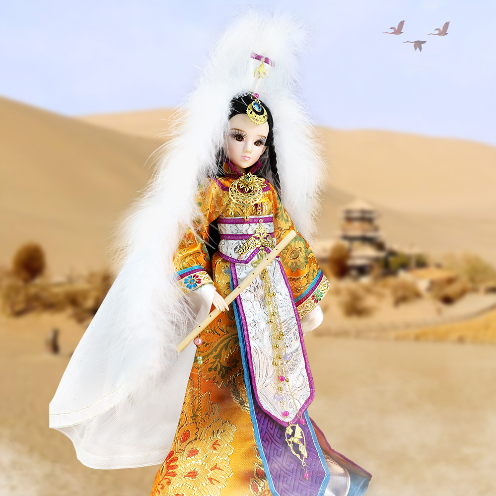 Fortune Days East Charm doll Ancient China Luo Yan 1/6 like BJD Blyth doll with makeup 14 Joint body High Quality gift цена
