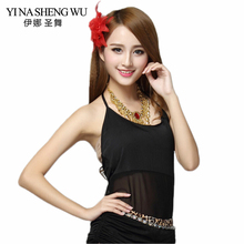Belly Dance Top Women Sexy Bellydance Costume High quality cheap belly dance top bra women sleeveless sling for sale 9 colors