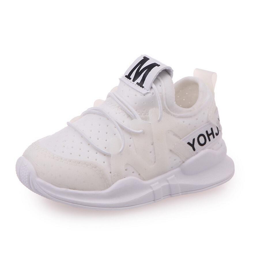 KKABBYII Kids Sneakers Autumn Shoes For Girls Breathable Sport Soft Bottom Baby Boys Shoes Kids Running Fashion Girls Sneaker
