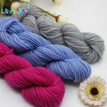 5 pieces*35g Wholesale! Acrylic crochet yarn thread to knit baby knitting crocheting sweater yarn healthy Fiber Silk t9(China)