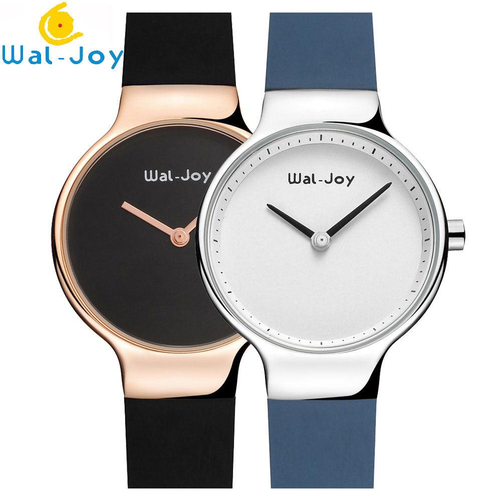 Wal-Joy 2018 Fashion Sport Silicone Watches Women Ladies Quartz creative wrist watch female Ultra Thin Clock moment female hour