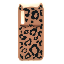 3D Cute Cartoon Soft Silicone Case For Samsung Galaxy J2 Prime J5 J7 J4 J6 2018 Leopard Beard Cat Phone Cover S9 S8 Plus S7 Edge