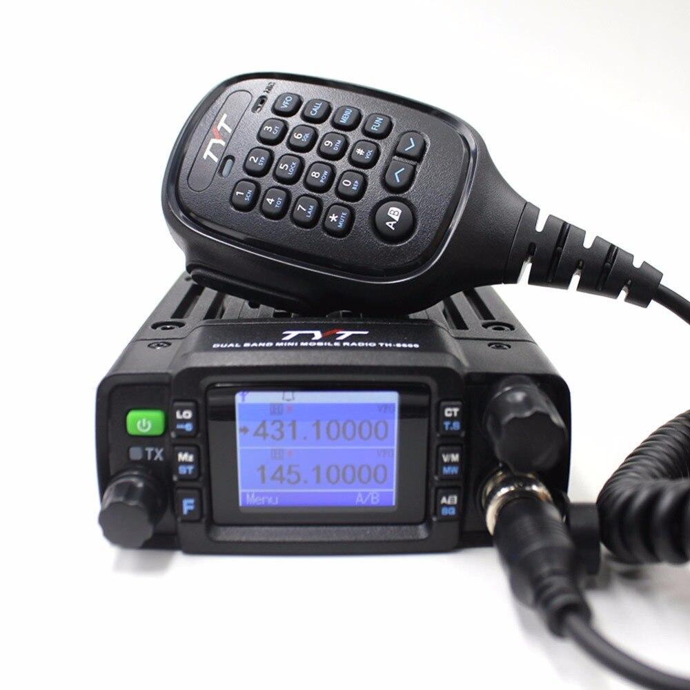 TYT TH-8600 Mini Mobile Radio 25W Dual Band VHF UHF Walkie Talkie Ham Radio Transceiver Two Way Radio