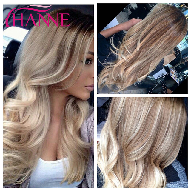 New Arrival 30S/60# Mixed Light Brown and blonde Body Wave Wig Natural Synthetic Hair Wigs Brown Wigs For White Women Peluca