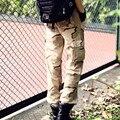 2016 Summer Men Pants Military Style Fashion Classic Men's Trousers Male Long Trousers Slim Fit Men Cargo Pants Big Size 28-38