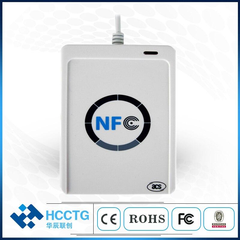Lecteur de carte à puce USB ACR122U NFC RFID pour tous les 4 types de NFC (ISO/IEC18092)