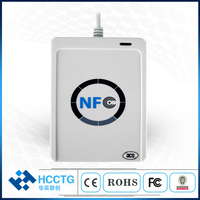 USB NFC RFID Smart Card Reader Escritor Para todos 4 ACR122U tipos de NFC (ISO/IEC18092)