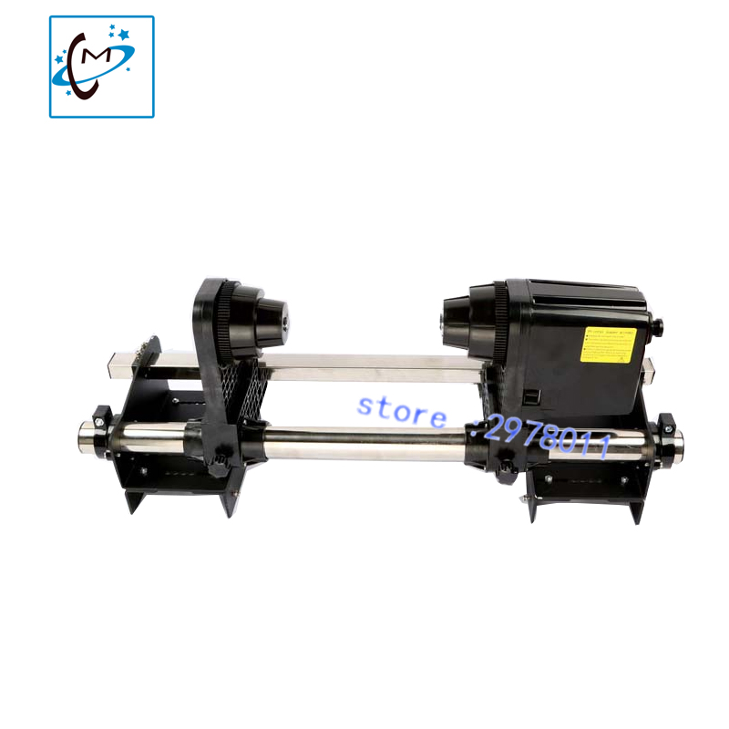 Hot sale! solvent printer Take up system for E pson dx5 dx7 Mimaki Niprint Roland Xuli Zhongte Yaselan Xenons paper control reel 64 automatic media take up reel system for mutoh mimaki roland etc printer