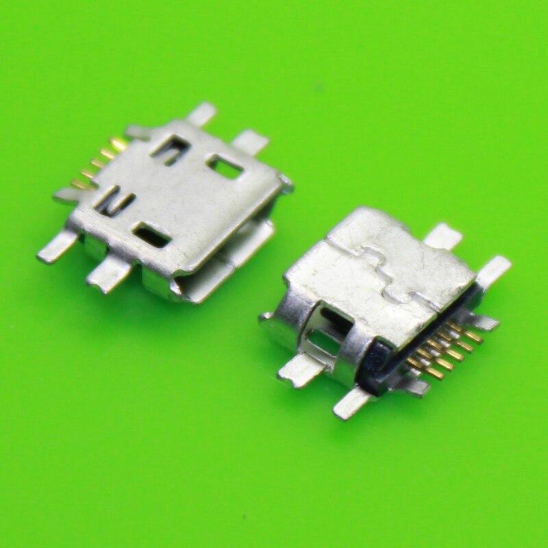10x 5pin Mobile Phone Micro Usb Jack Usb Connector Socket