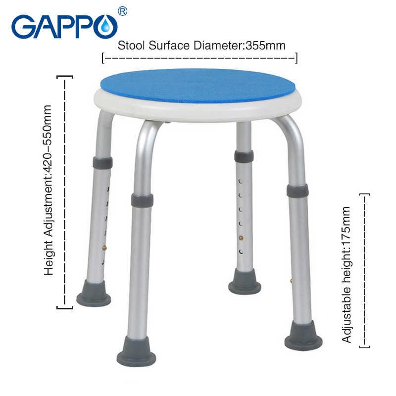 GAPPO настенный душ мест туалет кроссовки для ванной Регулируемый складной ванная комната сиденья унитаза