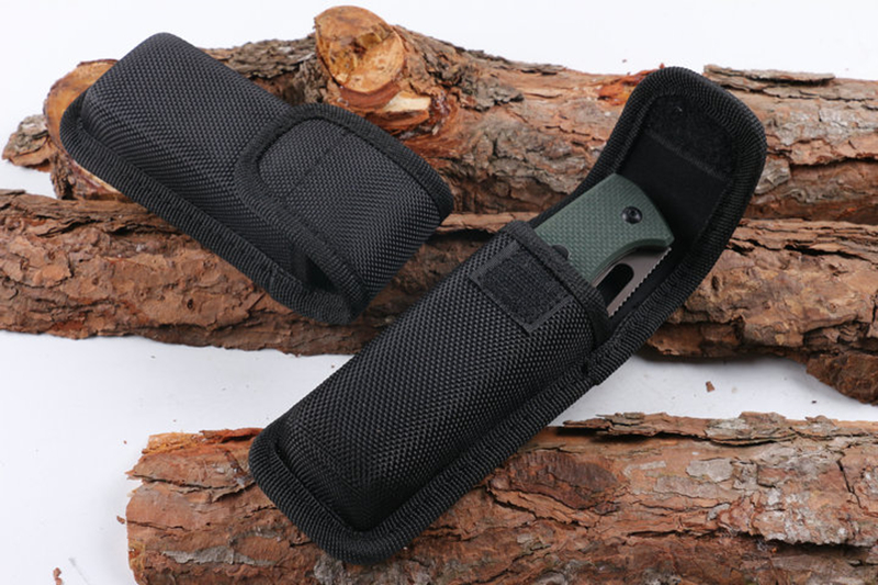 Outdoor Multifunctional Tools Nylon Clip Case Folding Pliers Army Knives Cover Bags Scabbard Pouch Waist Pack Wood Knife Sets