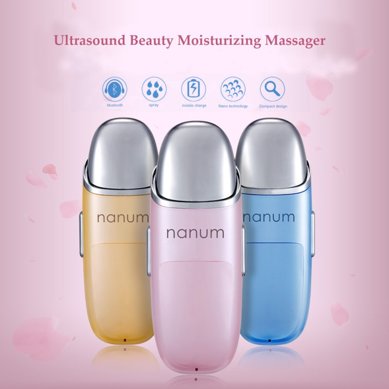 Handy Mist Sprayer Facial Ultrasound Beauty Moisturizing Massage Instrument Intelligence Test Skin Humidifier