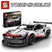 SY 7050 Technic Super Racer Racing Car 20097 Model legoingly 42096 Set Building Blocks Bricks Educational TOYS boy birthday gift