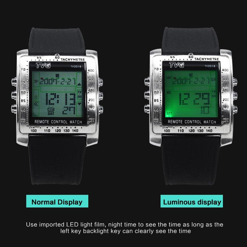 TVG Mode Mannen Sport Horloges Smart Remote Militaire Horloge LED - Herenhorloges - Foto 3