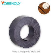 Купить с кэшбэком Virtual Magnetic Stripe Wall for XIAOMI Mi Roborock Vacuum Cleaner 2m Wall Accessory for Sweeping Robot 1/ 2 Generation