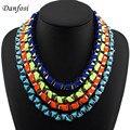 4 Colores Clásicos de Color Neón Cruz Cinta de Alta Calidad Cadena de La Serpiente Collares Joyería de Moda Para Las Mujeres Shipping