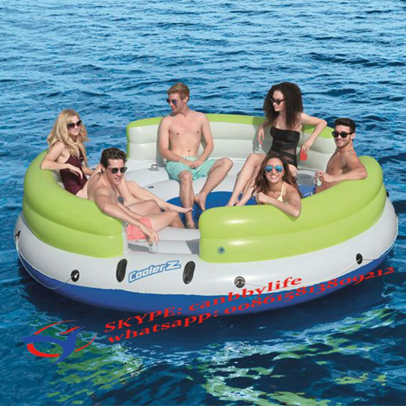 Giant Watermelon Inflatable Swimming Pool Lake River Float Raft Floating Lounge