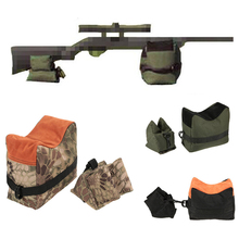 Outdoor Hunting Rifle Gun Accessories Sniper Shooting Support Sandbag Front Rear Bag Rest Bench