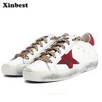 Xinbest Новый Женские туфли лодочки Повседневное модные женские туфли лоферы из натуральной кожи обувь для ходьбы супер легкий удобно обувь же