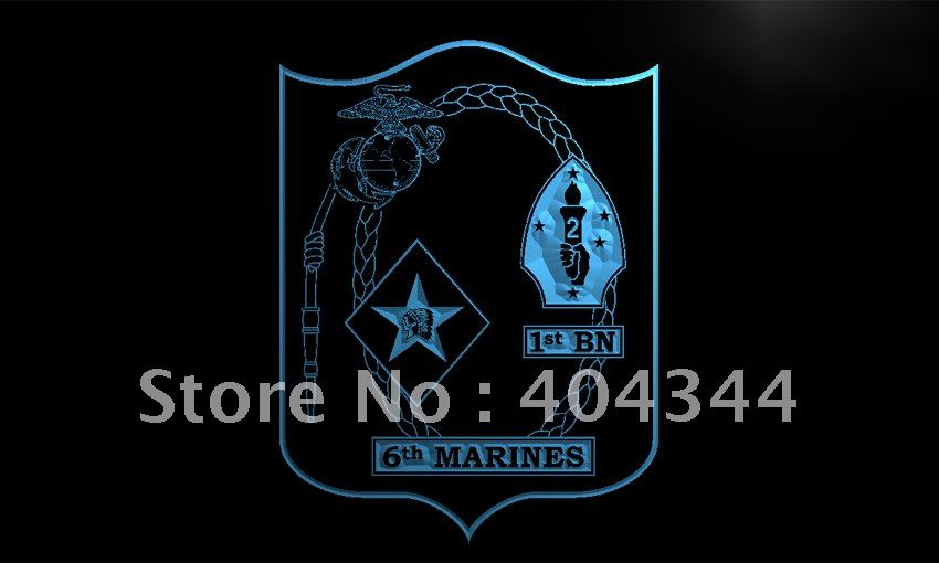 Li106 1st Battalion 6th Marine Regiment Usmc Neon Sign Home Decor Rhaliexpress: Usmc Home Decor At Home Improvement Advice
