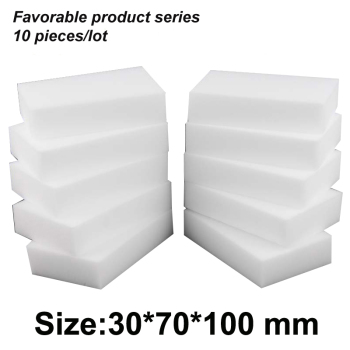 10*7*3cm magic clean melamine eraser,melamine sponge pad cleaner multi-functional kitchen assessoires dish washing eraser - discount item  21% OFF Household Merchandises