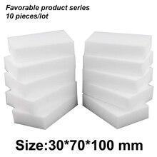 10*7*3cm magic schoon melamine gum, melamine spons cleaner multifunctionele keuken assessoires schotel spons gum