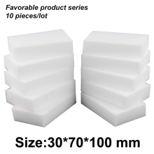 Borrador de melamina de limpieza mágica de 10*7*3 cm, limpiador de esponja de melamina, borrador de esponja multifuncional para cocina, borrador de esponja para lavar platos