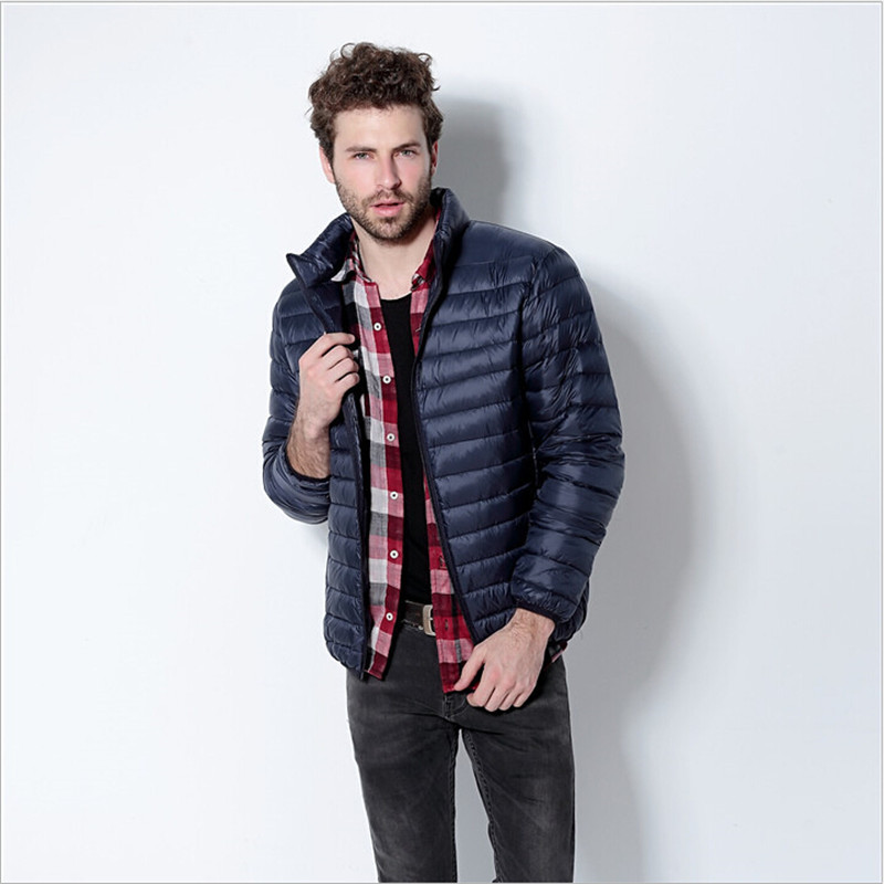 Plus Size Winter Men Jackets Duck Down Brand Clothing MenS Down Jacket Jaqueta De Couro Masculina Men Park Coat Wc918