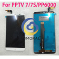 TOMORAL 100% Original LCD  Display For PPTV King 7 king 7s pp6000 Helio X10 MTK6795 Touch Screen Digitizer 6.0 INCH Replacement