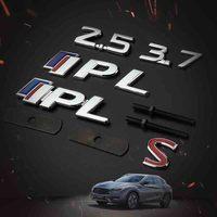 IPL 3 7 S 3D Metal Car Auto Badge Grille Emblem Sticker Chrome For Infiniti Q50